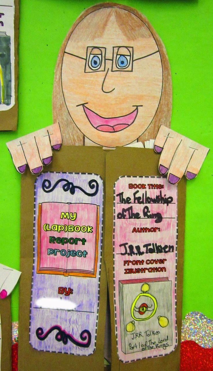 pictures of book report mobiles