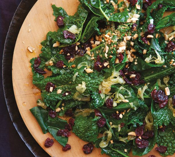 #RecipeOfTheWeek Kale is so hot-right-now and one of my fave recipes is the Kale and Cranberry Toss from the first episode of my new TV series. You'll find the recipe on my website http://www.annabel-langbein.com/recipes/kale-and-cranberry-toss/956/ Give it a try!