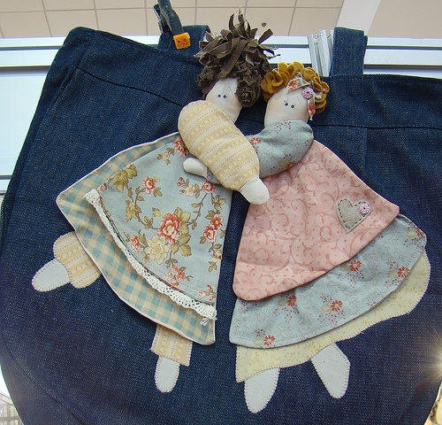 Dolls Bag #sew #crafts #bags