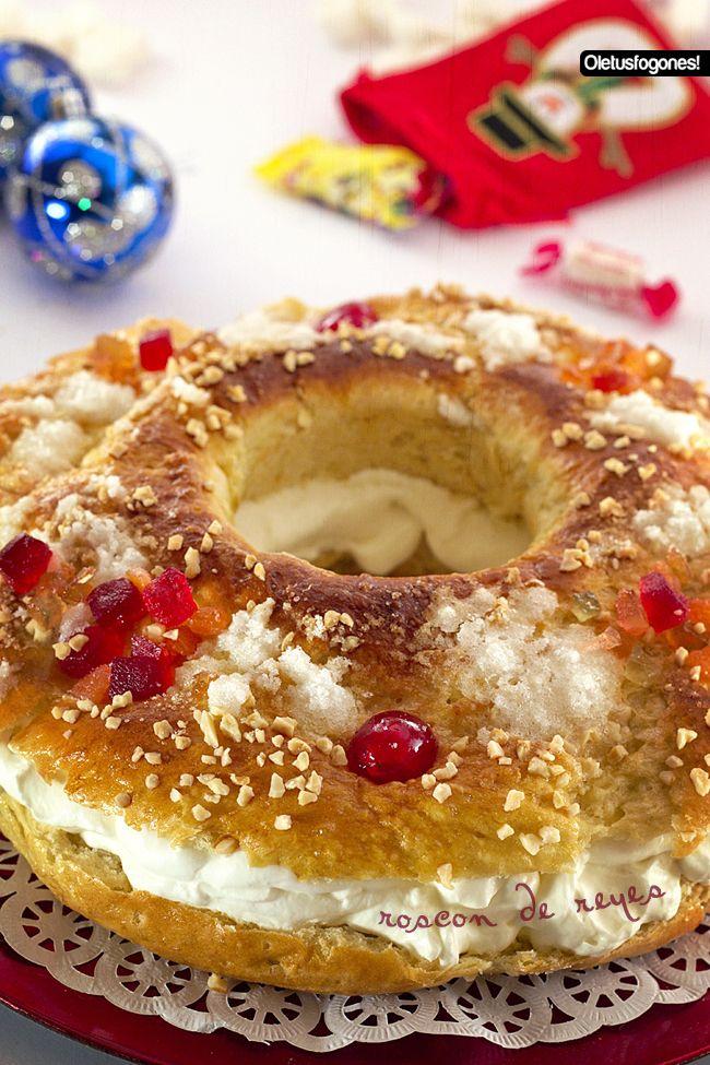 Ole tus fogones Roscón de Reyes - Receta paso a paso
