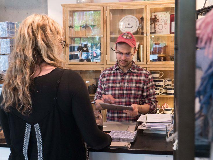 Einzelhandel Geschäft für Lifestyle und Interior Dekoration in Berlin: Verkaufsgespräch
