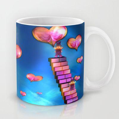 Spread the love Mug by Annabellerockz - $15.00