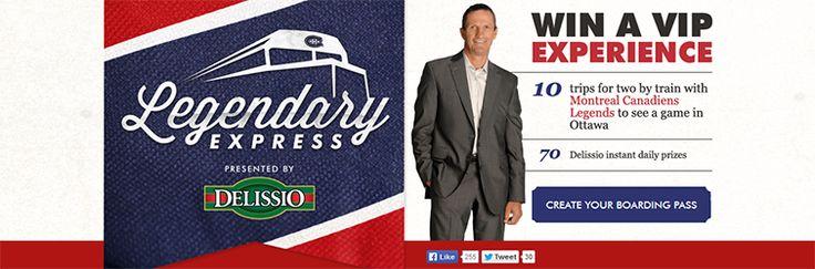 Delissio Legendary Express Contest