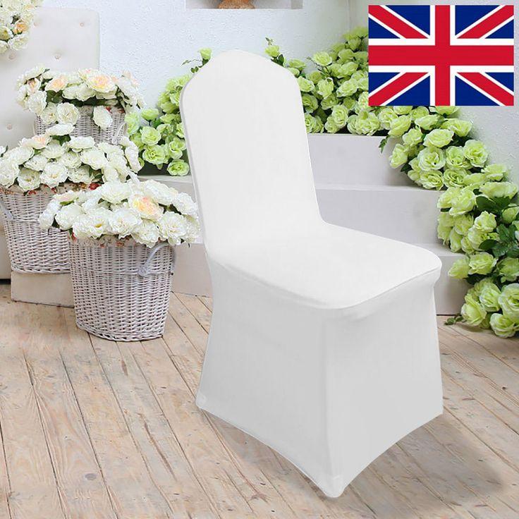 high quality standard banquet spandex lycra chair cover 100pcs white chair cover spandex chair