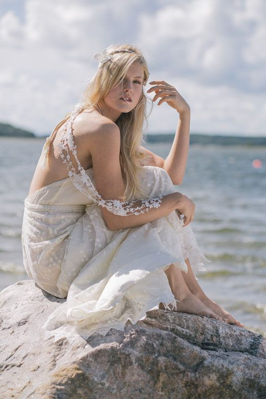 Ethereal, natural and bohemian inspired wedding dresses in the new 2015 collection from Minna http://www.minna.co.uk/