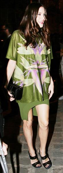 Jared Leto wears a mesh tank at YSL Fashion Show: Paris Fashion, Fashion Weeks, Leto Wear, Thanksjar Leto, Fashion Show, Jared Leto, Ysl Fashion, Mesh Tanks, The Roller Coasters