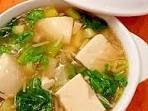とろとろ豆腐の★熱々!中華スープ。 レシピ・作り方 by まめもにお|楽天レシピ