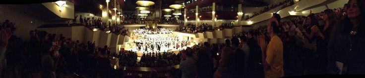 Vista panorámica del concierto del Auditorio Nacional de la Música de Madrid el día 18 de octubre de 2013. #auditorio #musica #bandasonora #panoramica