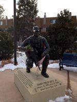 Danny Dietz Statue, Littleton, Colorado