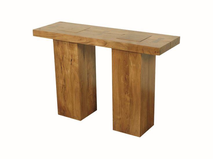 Mumbai Solid Acacia Console Table