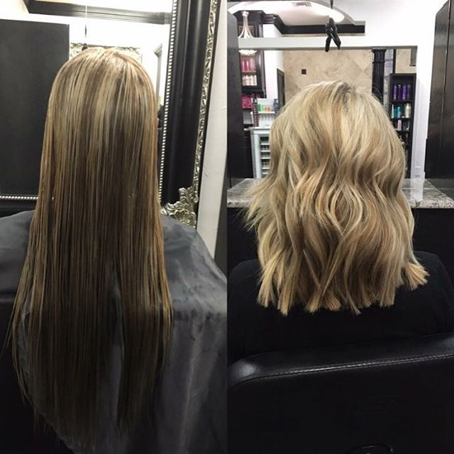 Hair By Samantha At Avante Debbie Lane 817 477 4040 She Took The Plunge