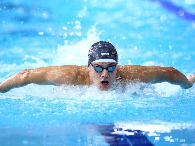 Result: Great Britain's James Guy finishes in fourth place in men's 200m freestyle