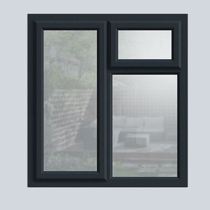 Anthracite Grey uPVC casement window