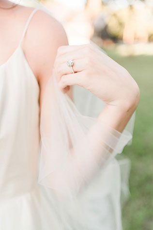 Stunning heirloom bridal portraits in The Grove in Texas