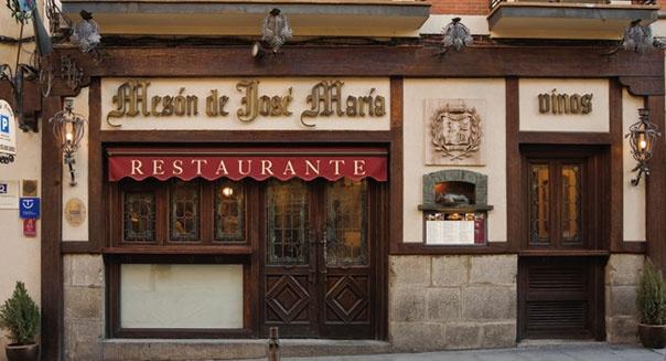 Diners: Restaurante José María, el imperdible de #Segovia