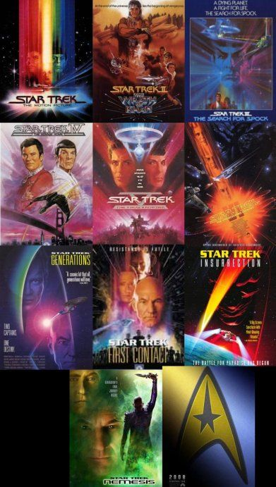Star Trek Movies are always a good time. I grew up with Captain Picard and Captain Kirk. I like some movies more than others. I hope Star Trek XII can be more of a III or VI than a I.