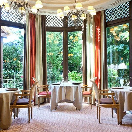 Repas en 4 plats au restaurant étoilé Le Corot