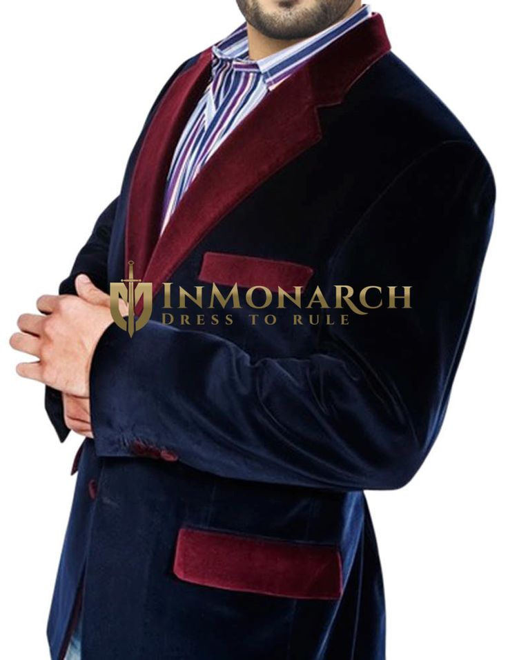 Mens Navy Blue Velvet Blazer Handsome http://www.99wtf.net/men/mens-hairstyles/trendy-fantastic-hair-products-men/