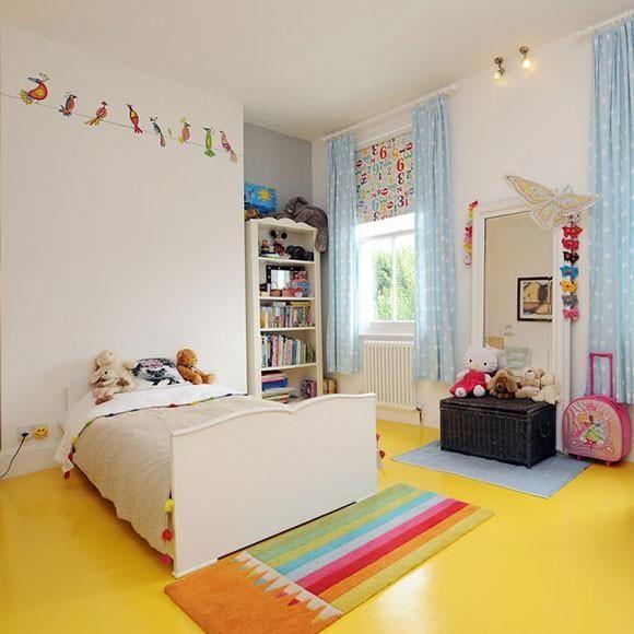 Lemon Yellow Vinyl Flooring The Colour Flooring Company Vinyl Flooring Kids Bedroom Flooring Bedroom Flooring