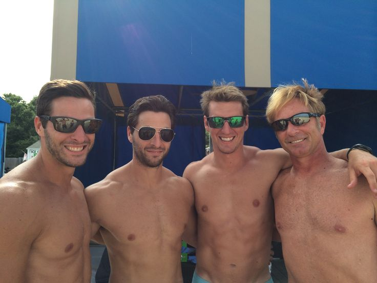 1 Mission Fitness consultant Mark Cinq-Mars & Current in OCS Kevin Vanous enjoying a day at the beach with 1 Mission Fitness founders, Jon Vaillancourt and current service member in the Coast Guard Charles Vaillancourt.