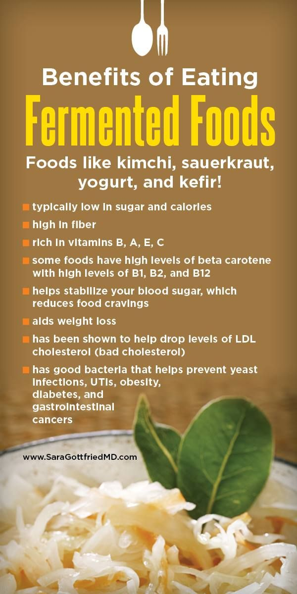 Benefits of eating fermented food