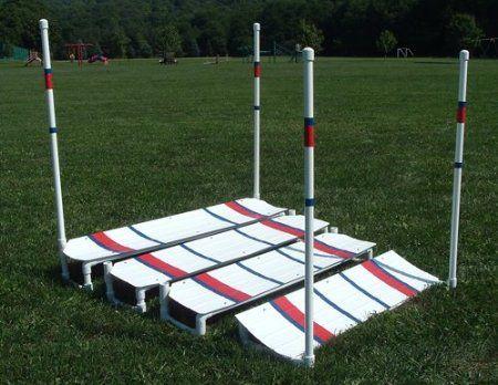 Make A Dog Agility Panel Jump