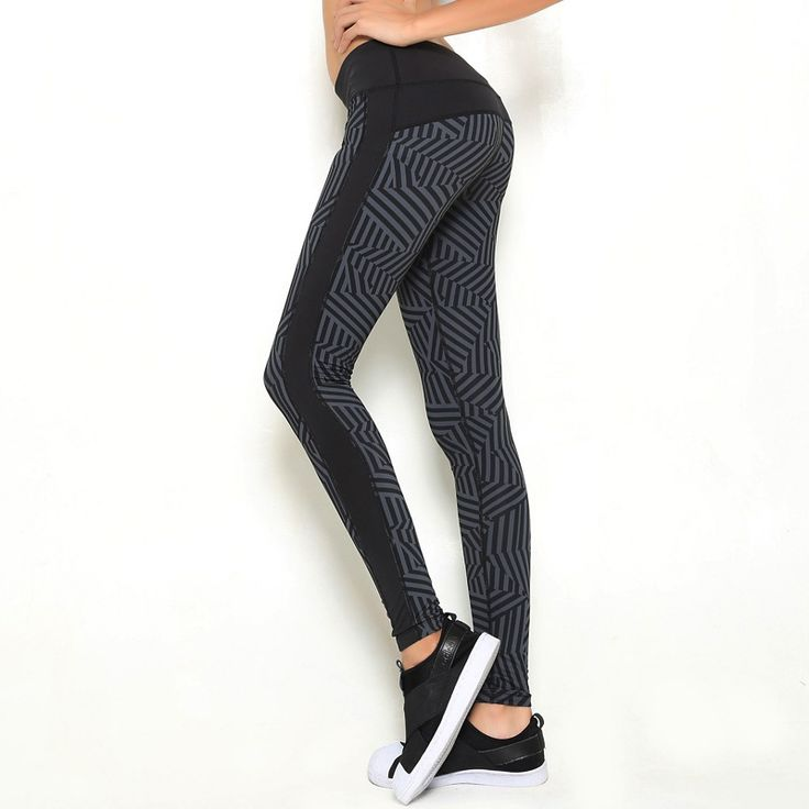 Women's Sports Leggings Black Print Running Women Fitness Legging => Save up to 60% and Free Shipping => Order Now! #fashion #product #Bags #diy #homemade