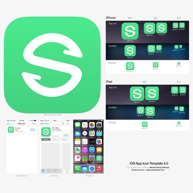 Create an iOS app icon for collaborative music app Songsync by ...mcgb