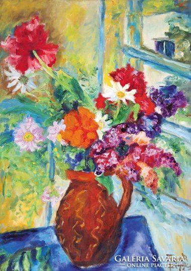 Frank Frigyes: Tavaszi virágok