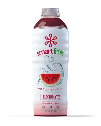 Smartfruit Wild Watermelon, 100% Real Fruit Smoothie Mix, No Added Sugar, Non-GMO, No Additives, Vegan, Family Pack 48 Fl. Oz (Pack of 1) * You can get more details by clicking on the image. #FruitandVegeJuices