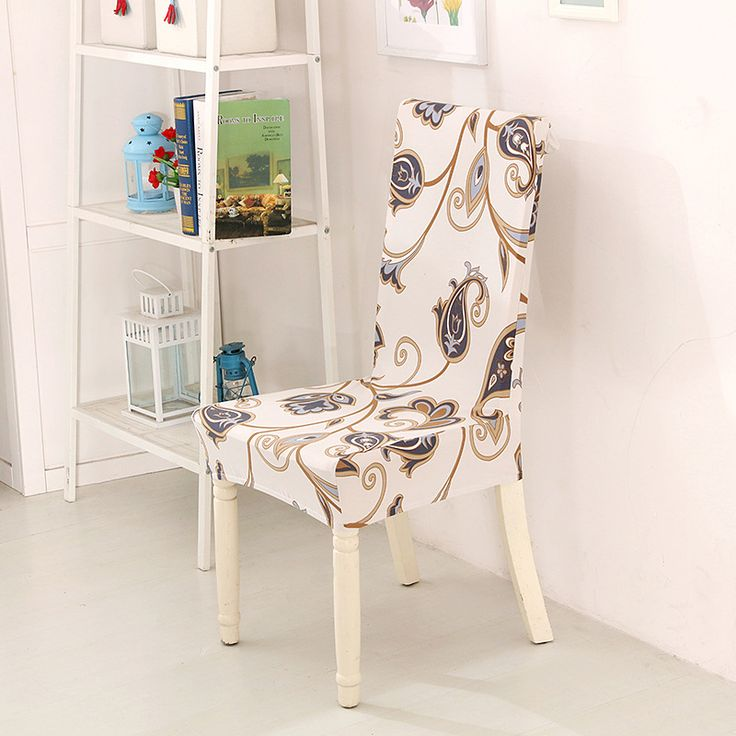 France housse de chaise elasticated dining chair seat covers stoelhoezen eetkamer stretch dining chair covers spandex