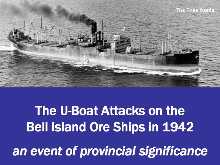 Most people don't know the Nazi's attacked Canada...I first learned of it when I was in Bell Island, and I saw the memorial...didn't learn this in history class.