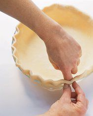 Martha Stewart's Pie Crust with Butter.  Easy to double. (Use 1/4-1/2 cups ice water on doubled recipe.)