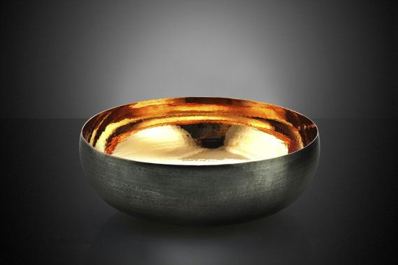 DECORISTAN Rose-gold Wealth Bowl  Handmade
