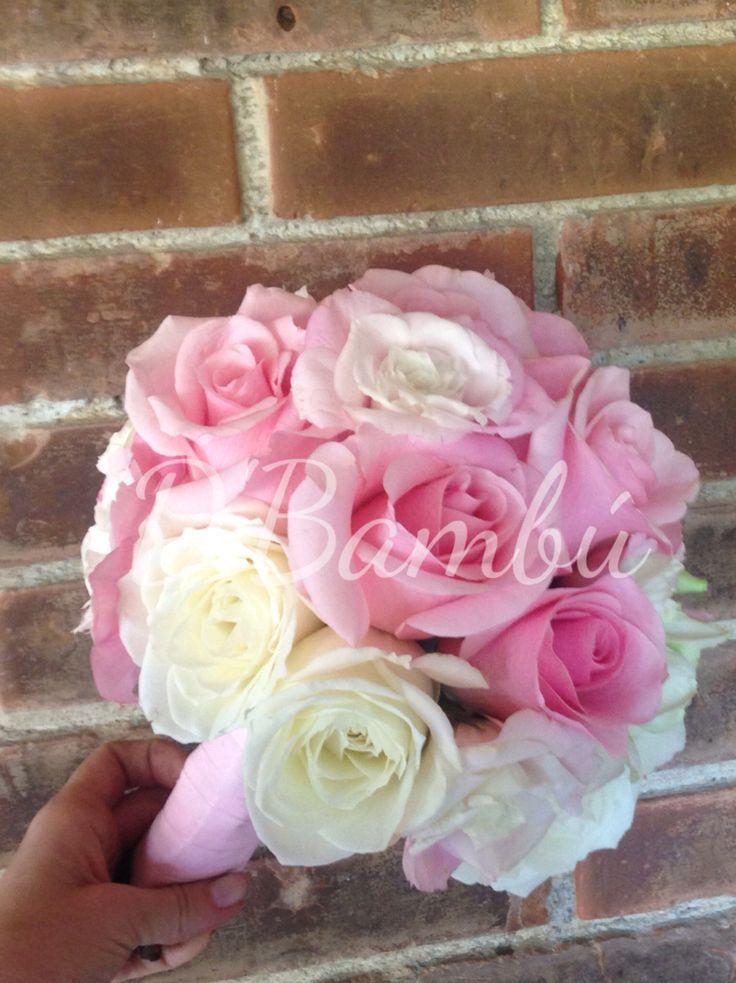 Rosado y blanco indiscutible delicadeza