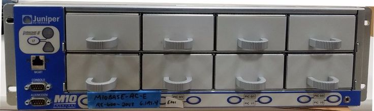 Juniper Networks M10BASE-AC-E M10 Unit with AC Power RE-600-2048 #JuniperNetworks