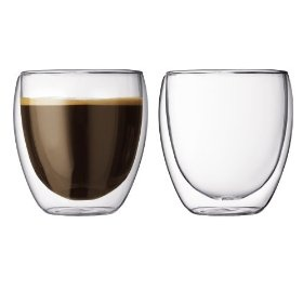 These double walled coffee cups keep your drink hot and look beautiful. Be sure to hand wash them or you might get condensation, but they are totally worth it.