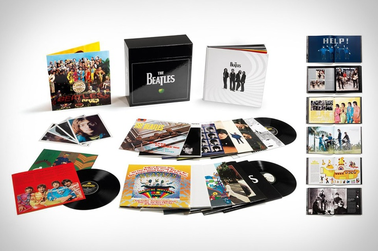 The Beatles Stereo Vinyl Box Set-Hear the Fab Four like never before on this box set.