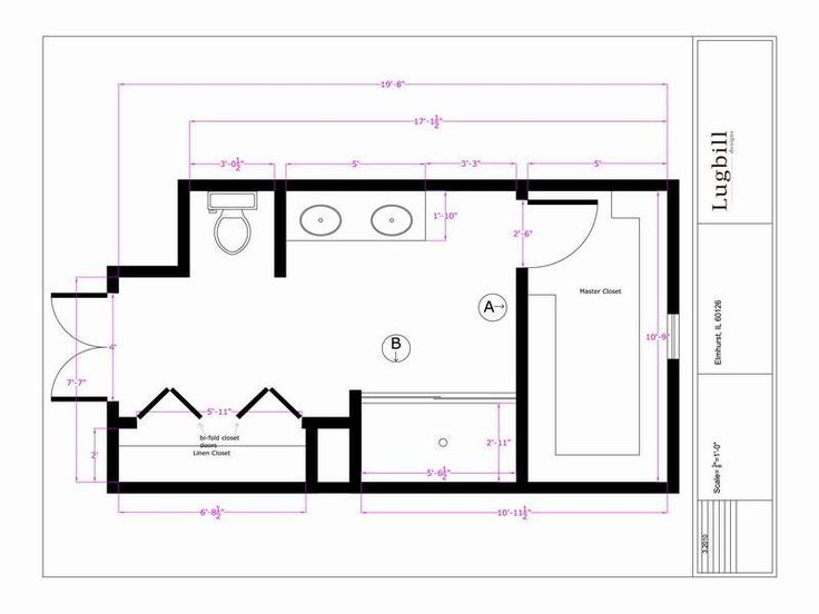 Pics On  x master bathroom floor plans Google Search