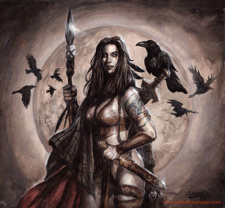 Celtic warrioress by ~sebastien-grenier on deviantART  See the artists website here:  http://sebastien-grenier.deviantart.com/#