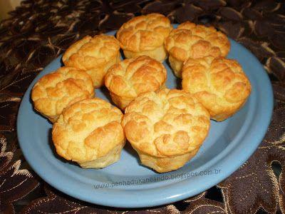 Emagrecer? Eu consegui!: Pãozinho de Ricota Dieta Dukan, com requeijão, queijo e amido