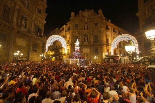 The celebration of S.Rosalia #Palermo #Sicily