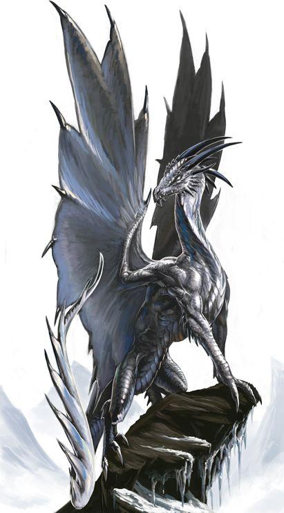 Silver Dragon by BenWootten.deviantart.com on @deviantART