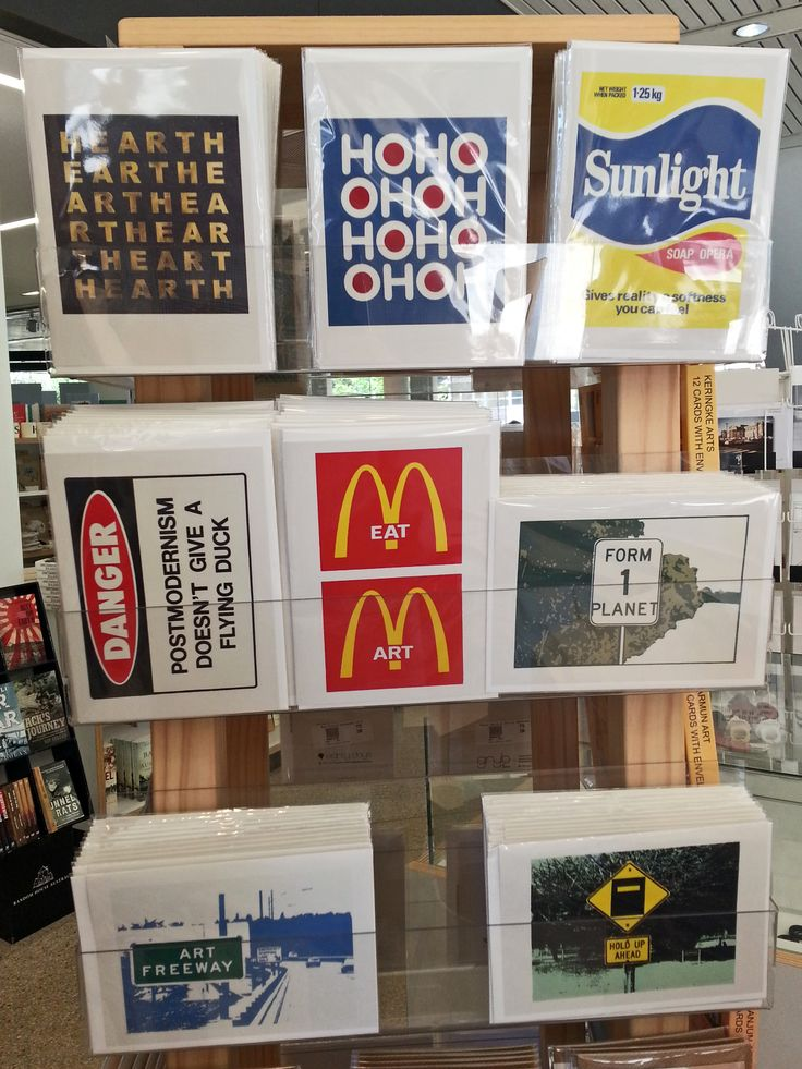 Greeting card range by artist Richard Tipping from the State Library of NSW exhibition Born to Concrete. Available to purchase from the Library Shop.