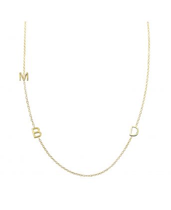 Initials necklace - omg, I need this!!!: Gift, Kids Initials, For Kids, Letters Necklace, Cute Ideas, Mayabrenner