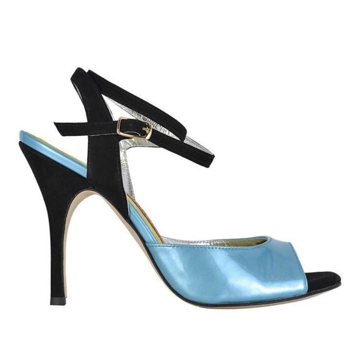 BANDOLERA A1CL BLEU<br>Chaussure de tango