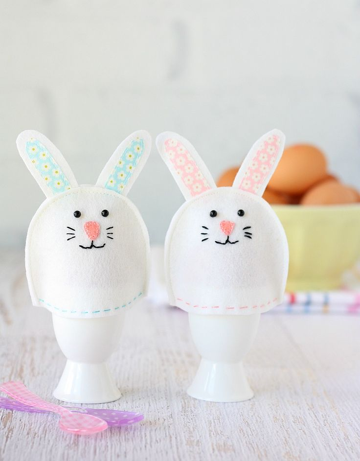 78 best easter sewing projects images on pinterest easter crafts make a bunny egg cosy for easter using our easy tutorial made from wool felt negle Image collections