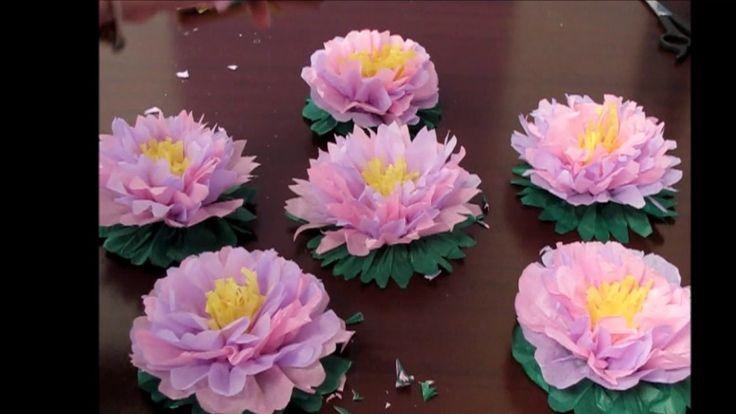 DIY Flores en papel seda - Paola Mora