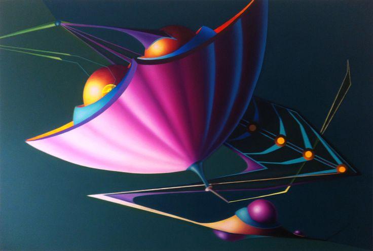 Under water, 2013, olio e acrilico su tela, 100x150 cm - Ignazio Mazzeo #art #painting #ignaziomazzeo #colours #nature
