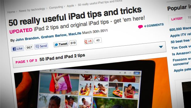 Be an iPad Superstar - brush up on all of the latest tips and tricks.